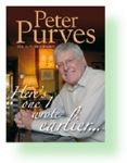 Peter Purves autobiography, signed by Peter only £12.99 (£6.99 off RRP)